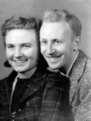 Kathleen & Willard Ericson First Married